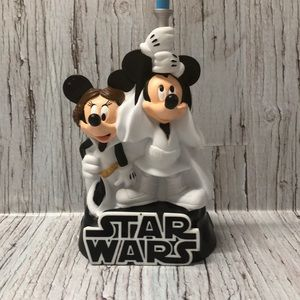 Disney Star Wars / Mickey & Minnie Piggy Bank